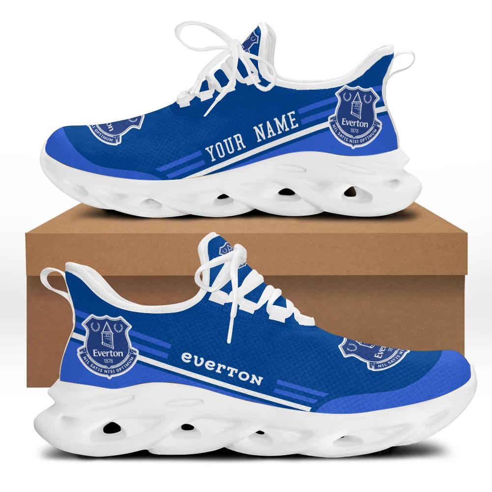 Everton custom name sneakers