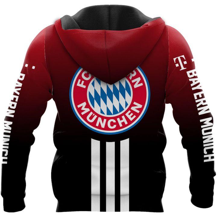 FC Bayern Munchen football 3d all over print hoodie3