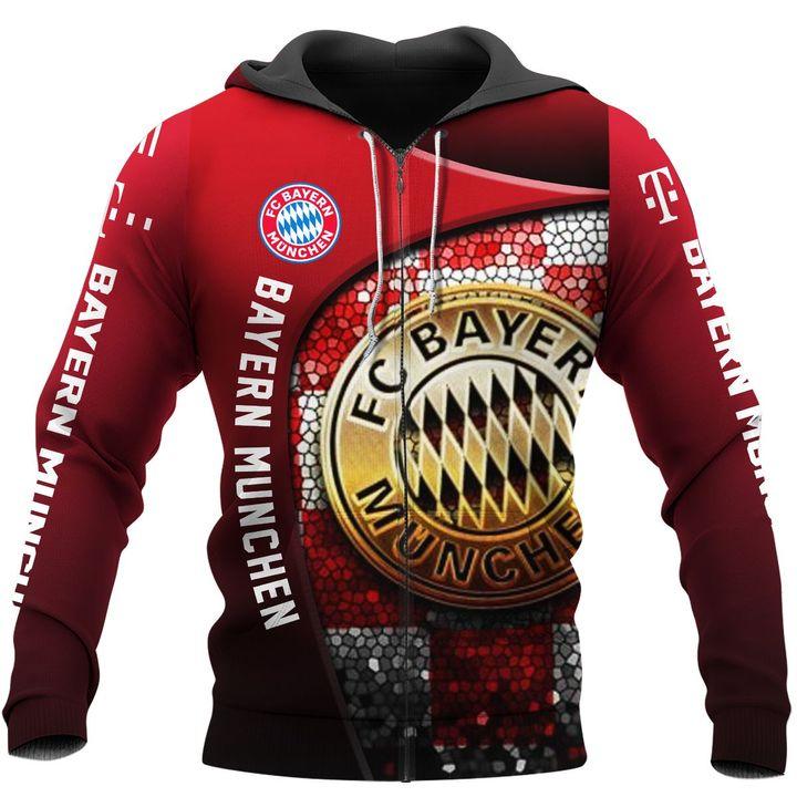 FC Bayern Munchen football 3d all over print hoodie5