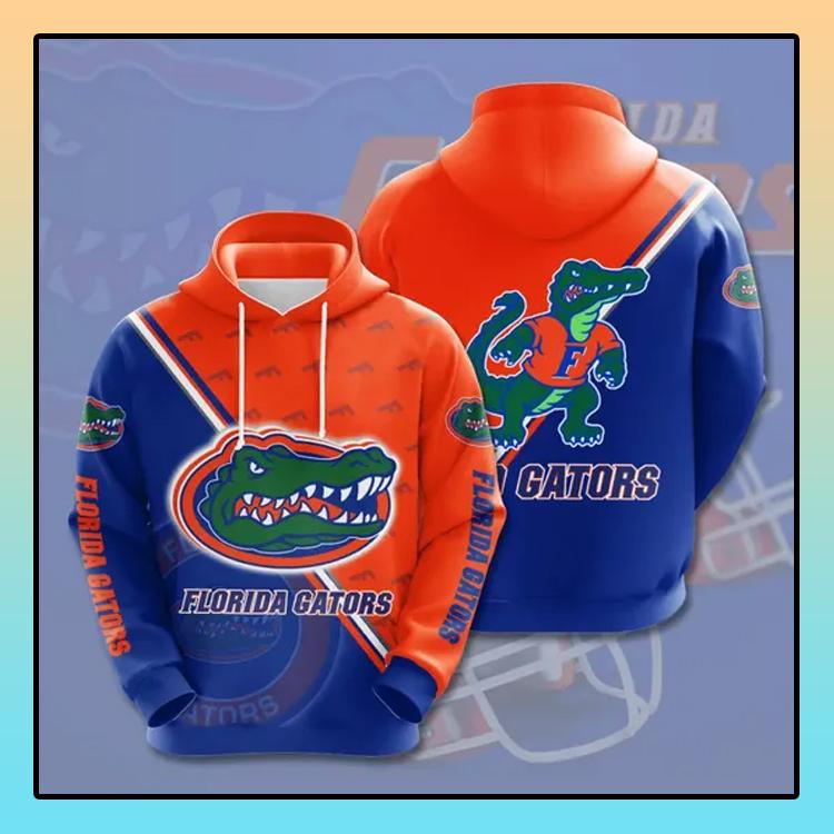 Florida Gators All over print 3d hoodie1 1