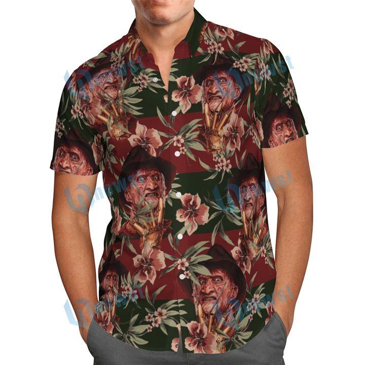 Freddy Krueger Hawaiian shirt and short