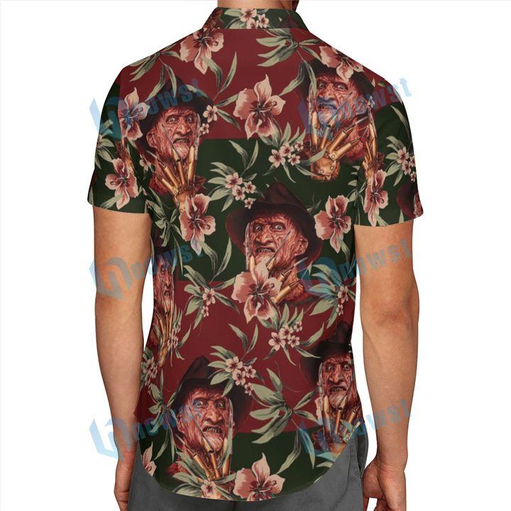 Freddy Krueger Hawaii shirt and short 2