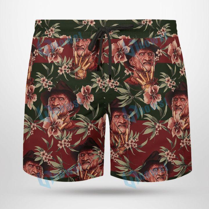 Freddy Krueger Hawaii shirt and short 3