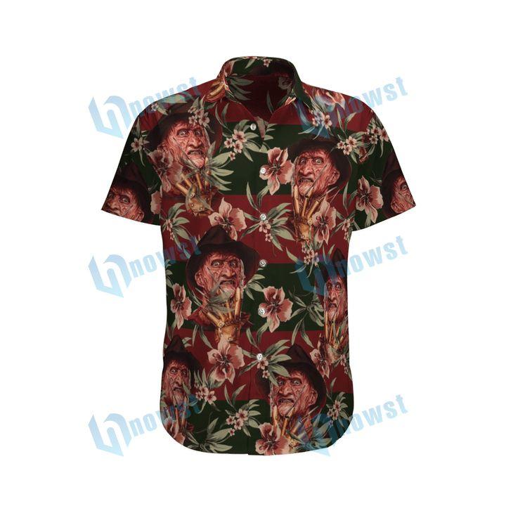 Freddy Krueger Hawaii shirt and short