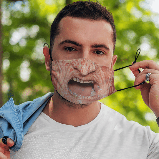 Freddy Krueger Horror Mask1
