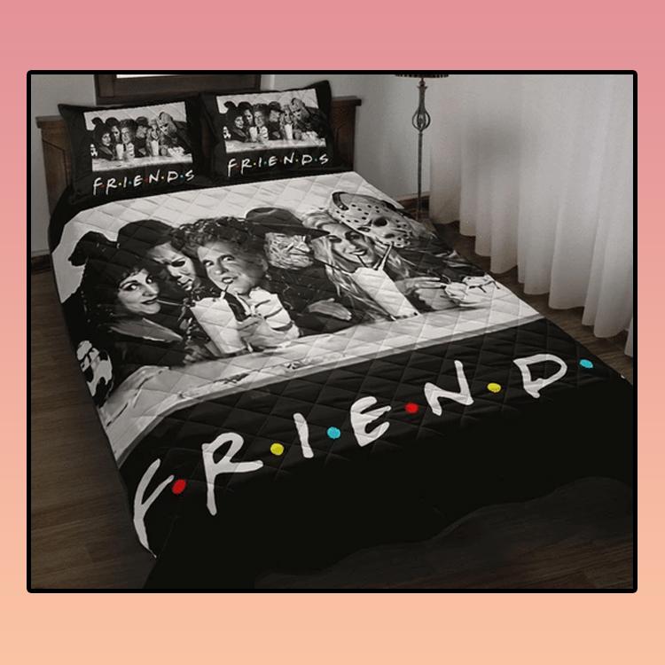 Friends TV Halloween Horror Movie Quilt Beding Set3