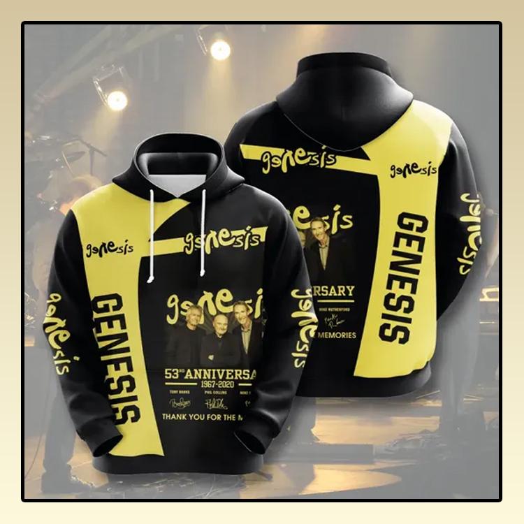 Genesis anniversary All over print 3d hoodie2 1