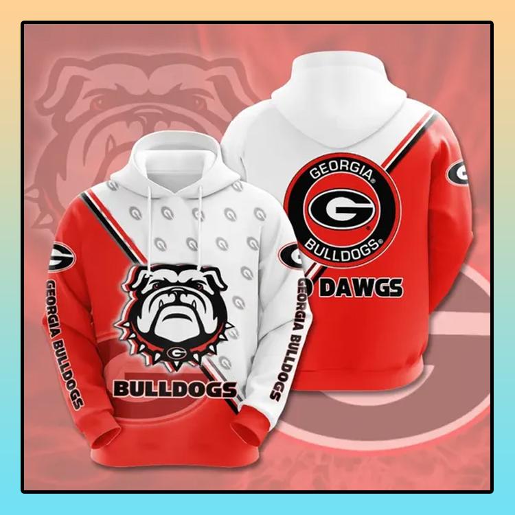 Georgia Bulldogs All over print 3d hoodie3 1