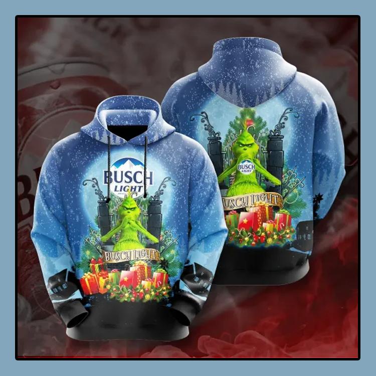 Grinch Busch Light All over print 3d hoodie4 1