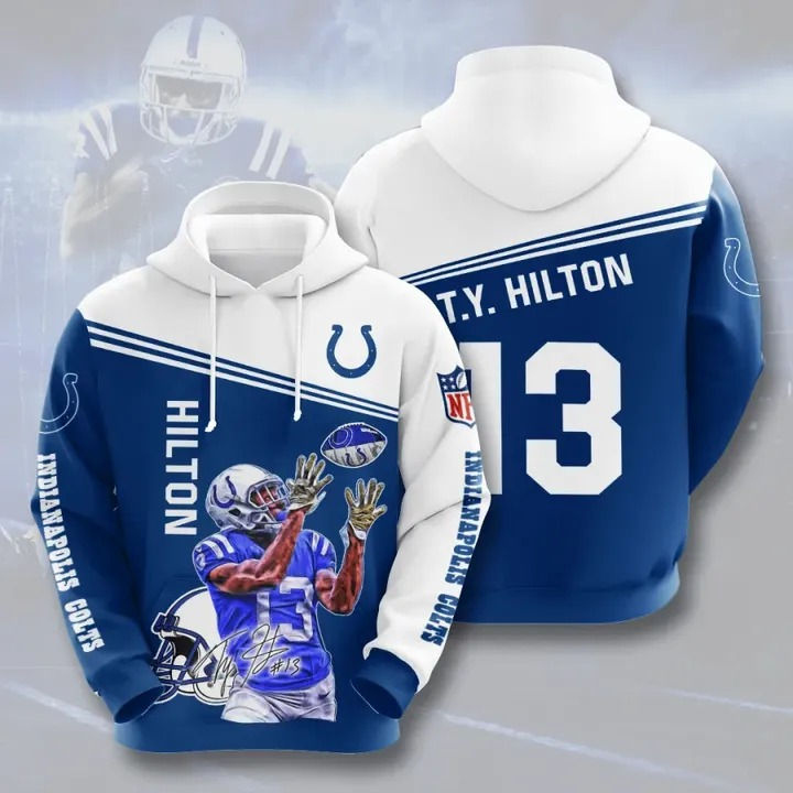 Hilton 13 Indianapolis colts hoodie 1