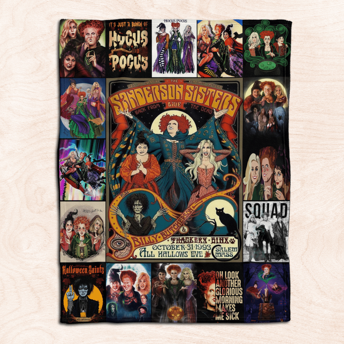 Hocus Pocus in a world full of basic witches be a sanderson blanket 1