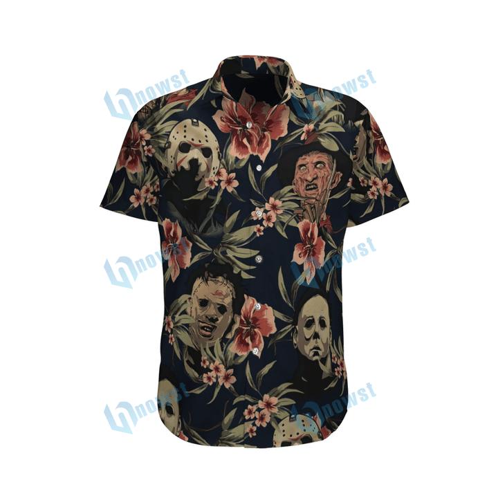 Horror movie Hawaii shirt and short 3