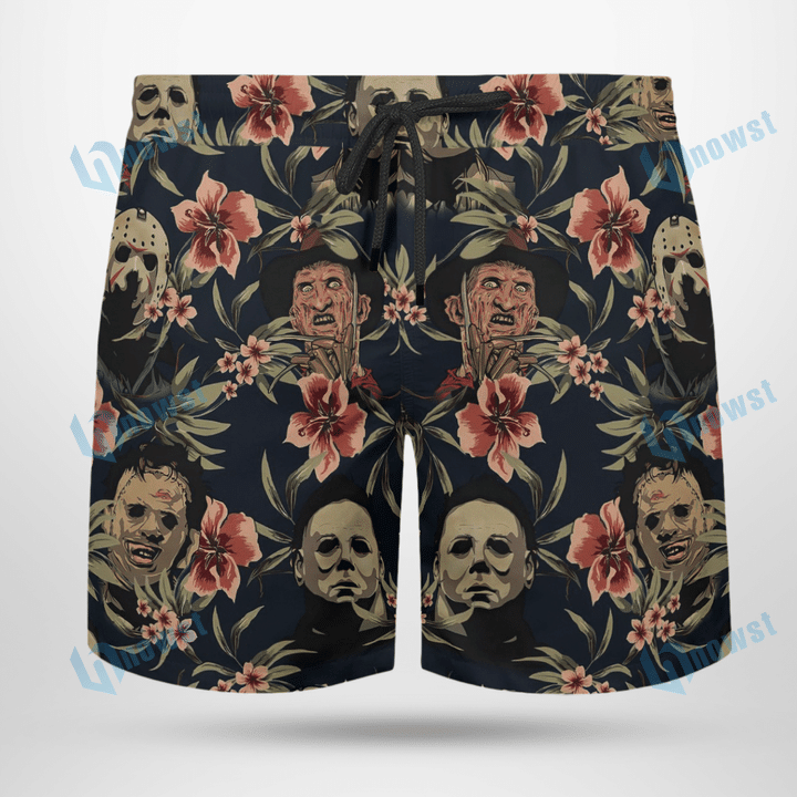 Horror movie Hawaii shirt and short
