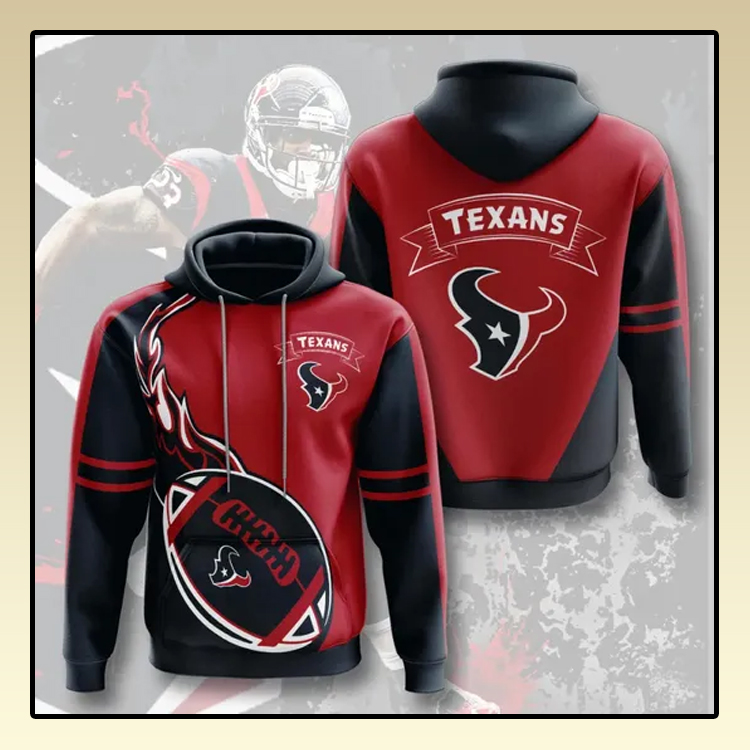 Houston Texans All over print 3d hoodie3 1