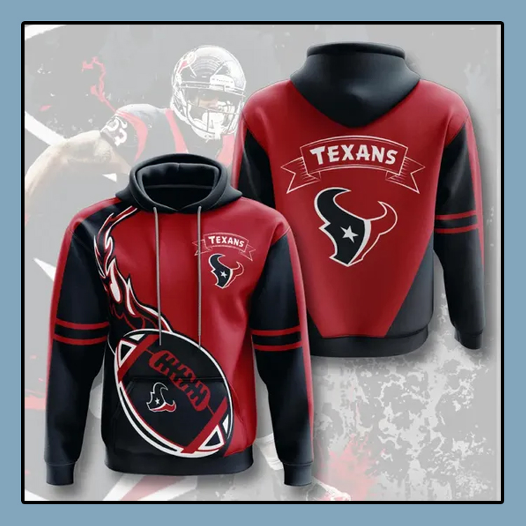 Houston Texans All over print 3d hoodie4 1