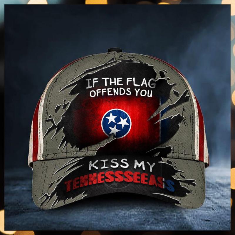 If The Flag Offends You Kiss My Tennesseeass Cap hat 1