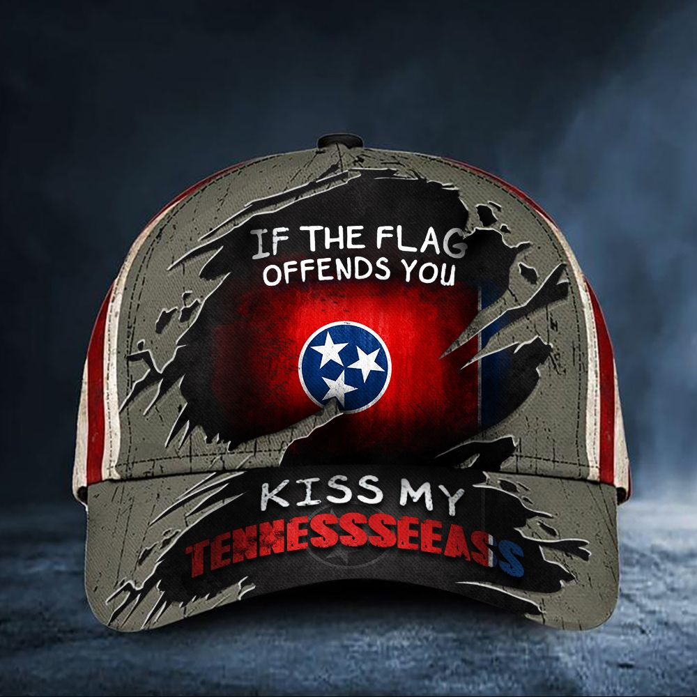 If The Flag Offends You Kiss My Tennesseeass Cap hat