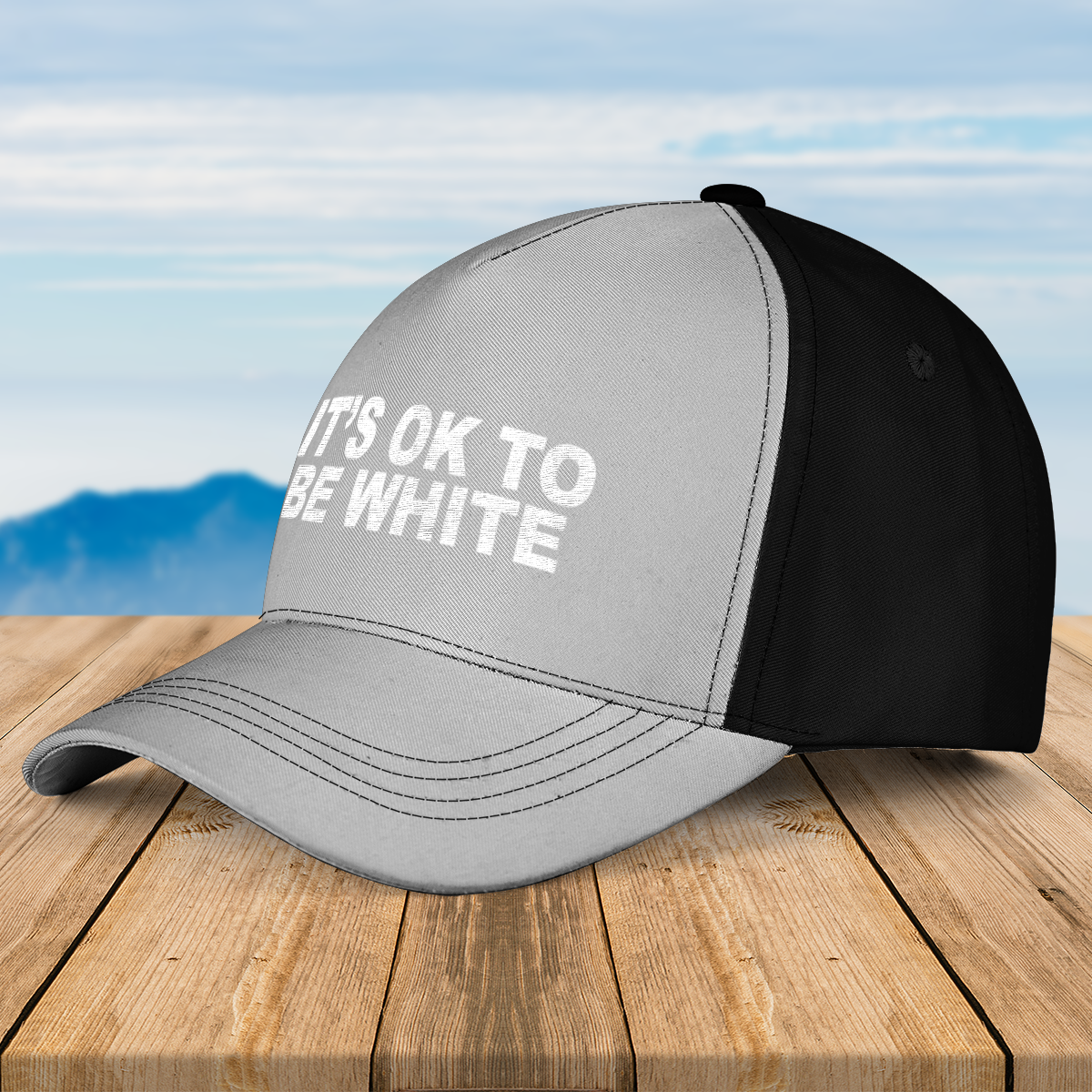 Its ok to be white cap 1