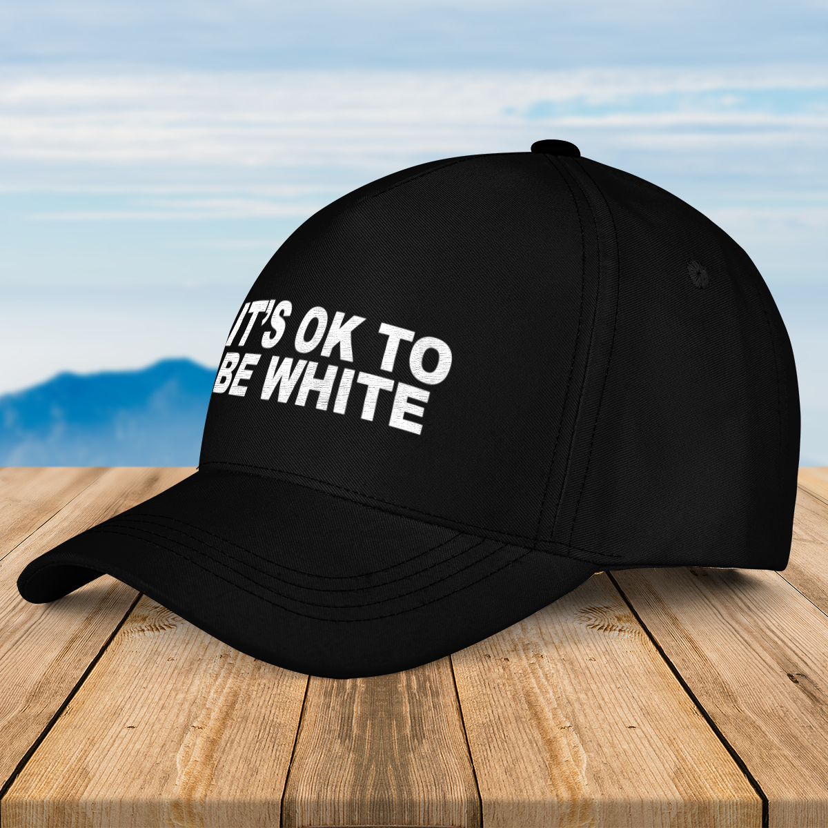 Its ok to be white cap 3