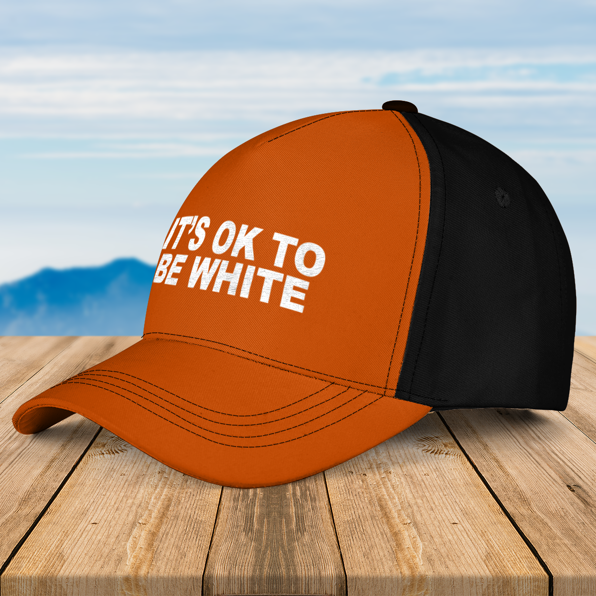 Its ok to be white cap