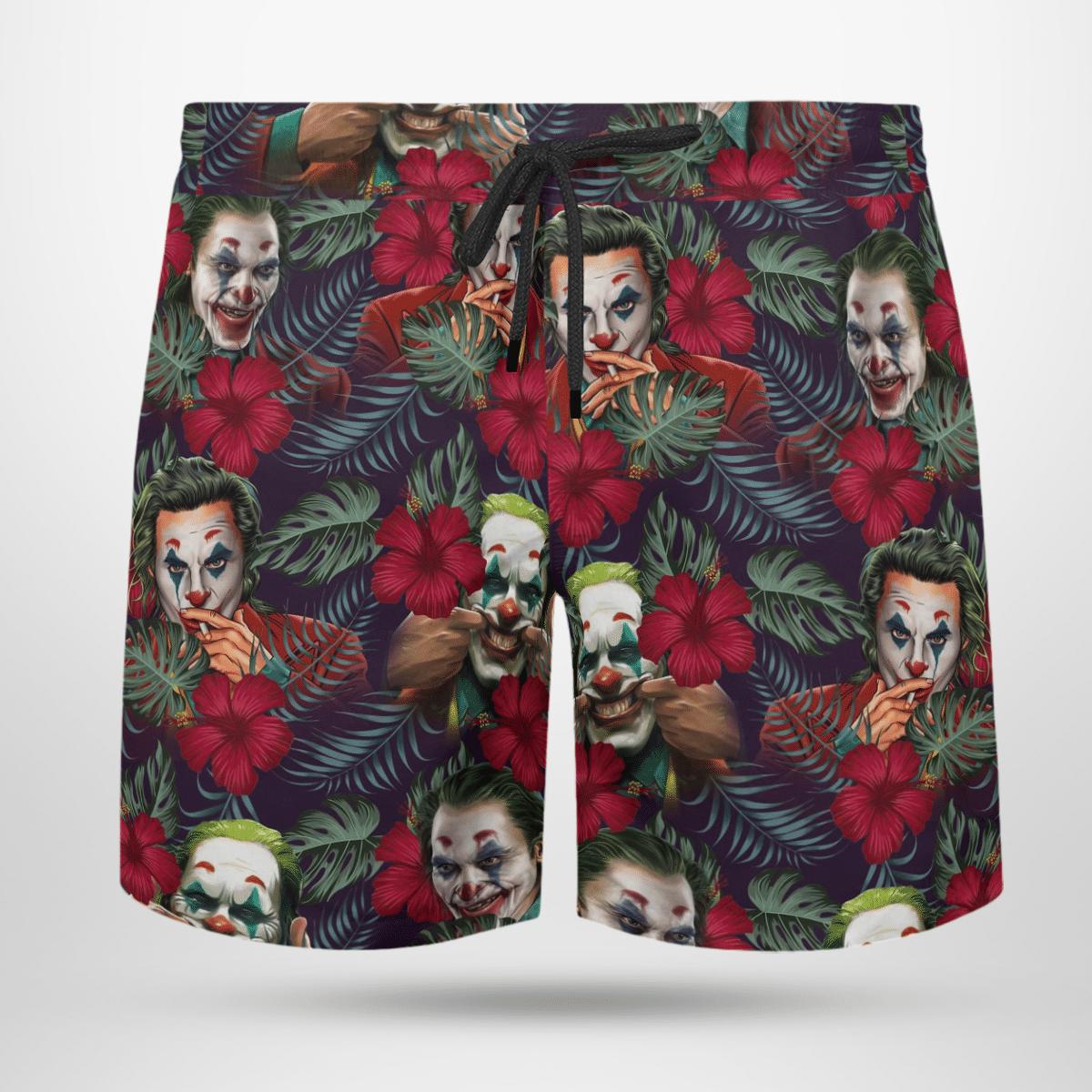 Joker cool Hawaii shirt and short 3