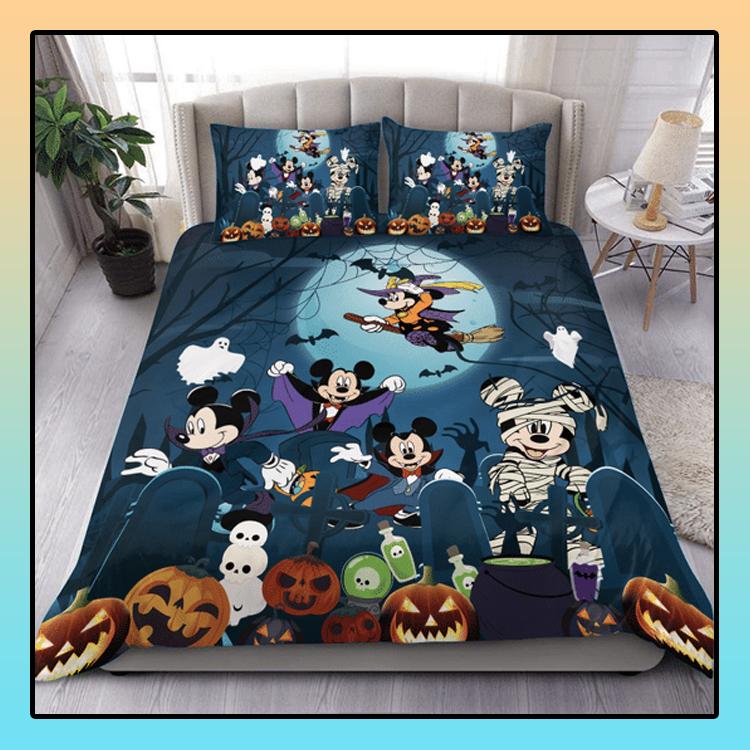 Mickey Mouse Halloween Bedding Set1