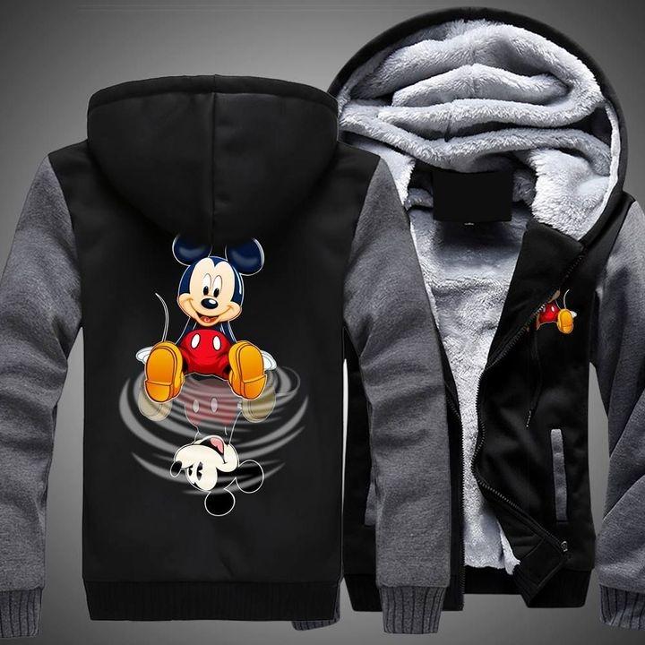 Mickey mouse disney 3d fleece hoodie 2