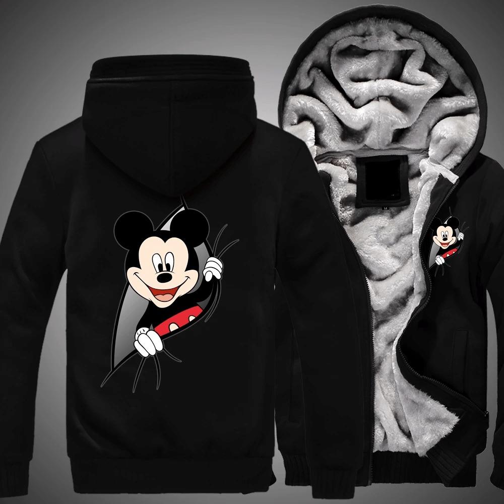 Mickey mouse disney 3d fleece hoodie 6