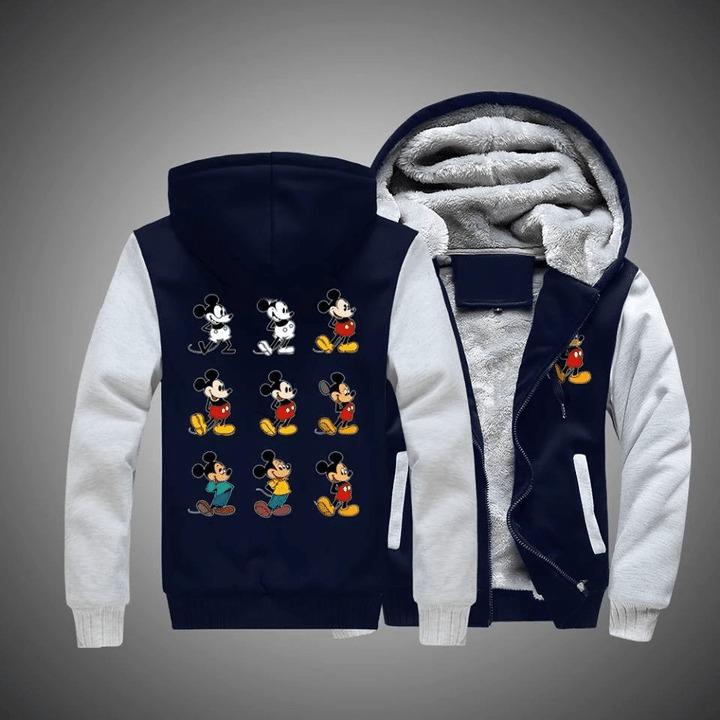 Mickey mouse disney 3d fleece hoodie 8