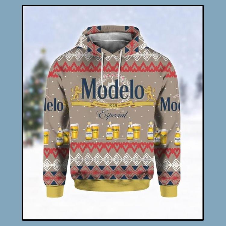 Modelo Especial beer all over print 3d hoodie1 1