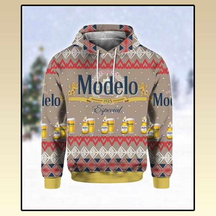 Modelo Especial beer all over print 3d hoodie2 1