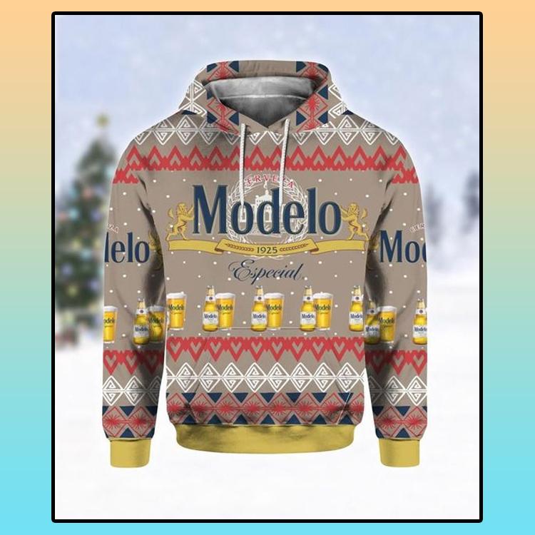 Modelo Especial beer all over print 3d hoodie4 1