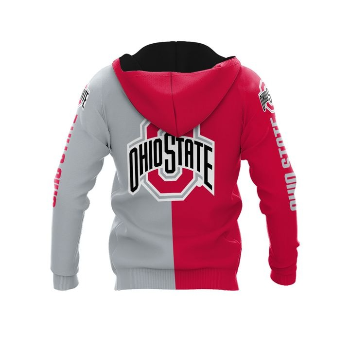 Ohio state buckeyes thank for the memories 3d hoodie 2