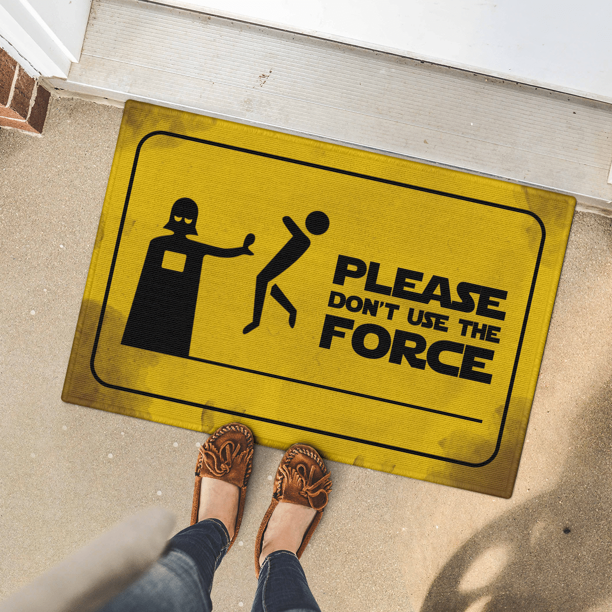 Please dont use the force doormat 2