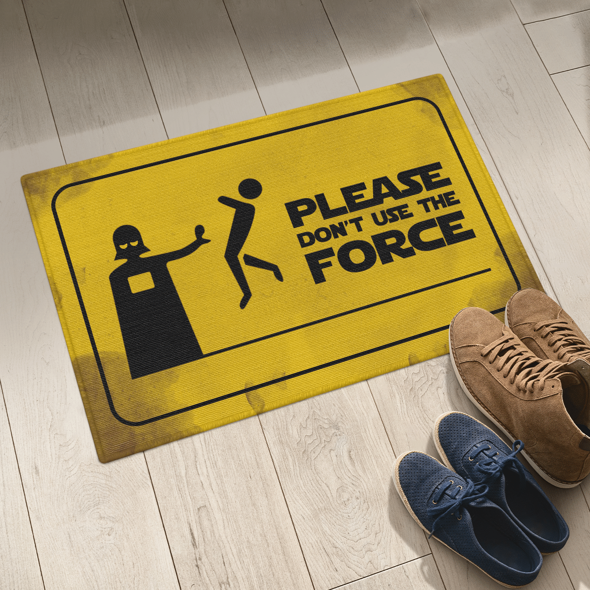 Please dont use the force doormat 3