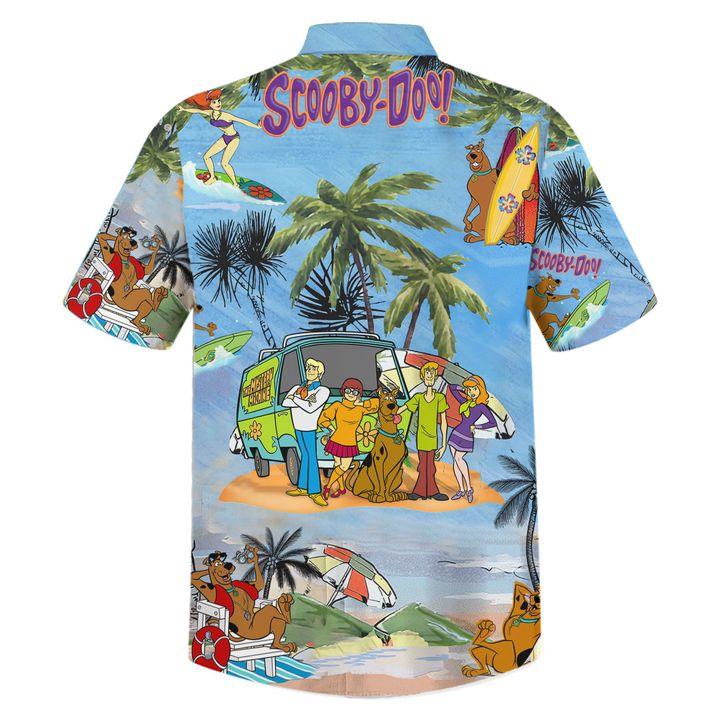 Scooby doo summer vacation hawaiian shirt and beach2