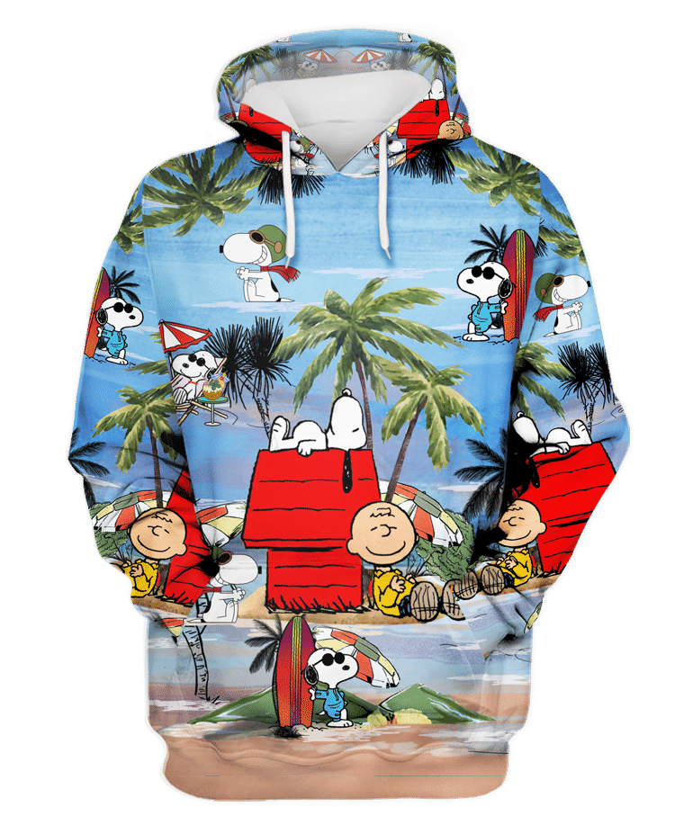 Snoopy and Charlie Brown summer time hoodie and shirt