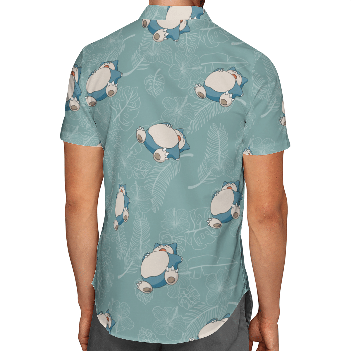 Snorlax Hawaiian Shirt 3