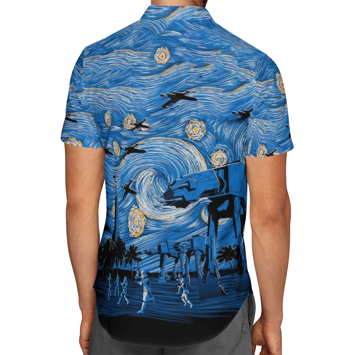 Star Wars Starry Night Hawaiian shirt 1