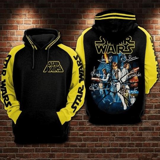 Star wars unisex 3d all over print hoodie1