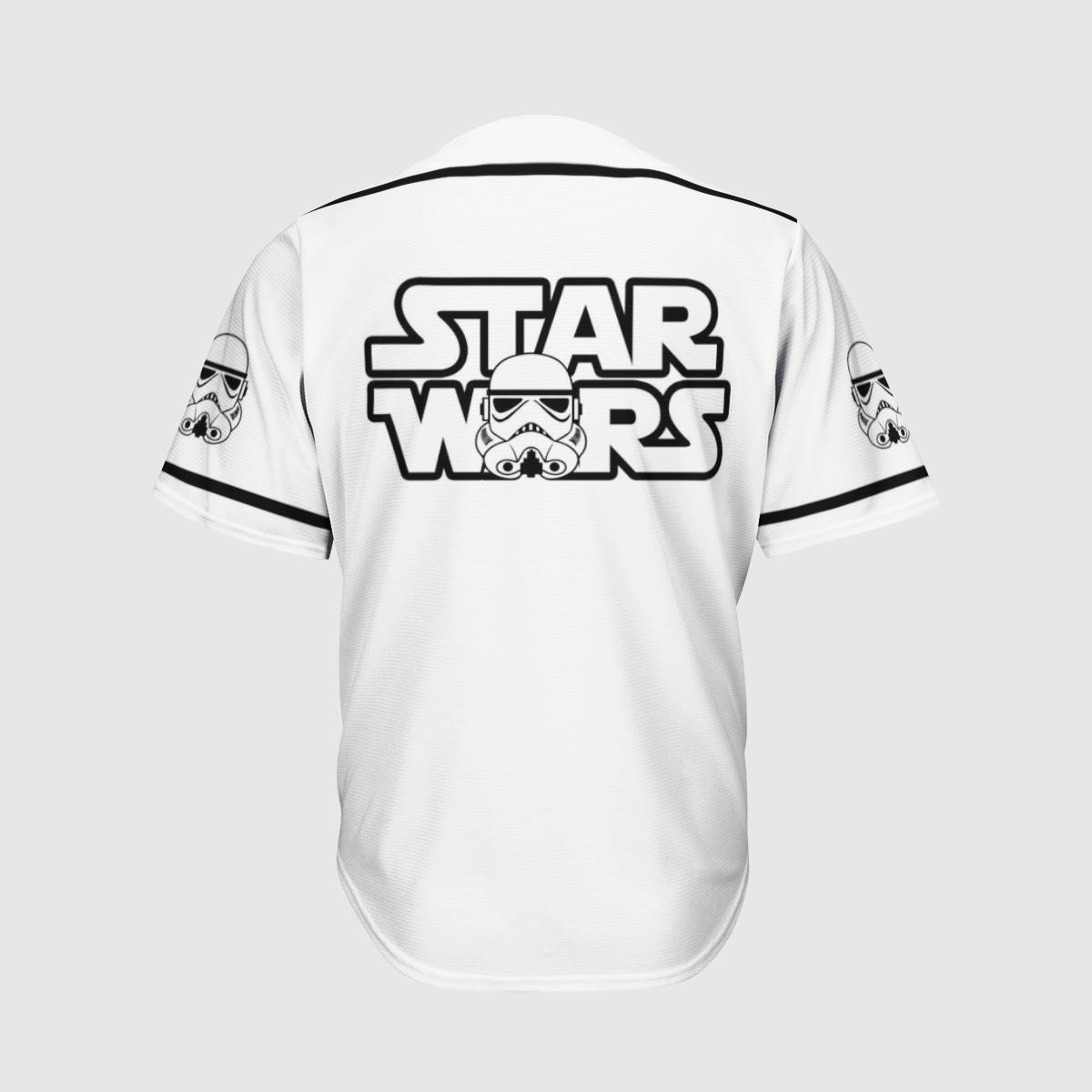 Stormtrooper Star Wars baseball shirt 1