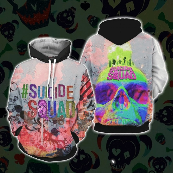 Suicide squad 3d all over print hoodie 1