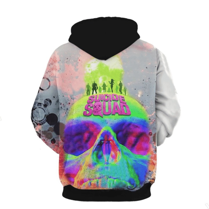Suicide squad 3d all over print hoodie 2