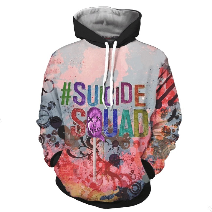 Suicide squad 3d all over print hoodie 3