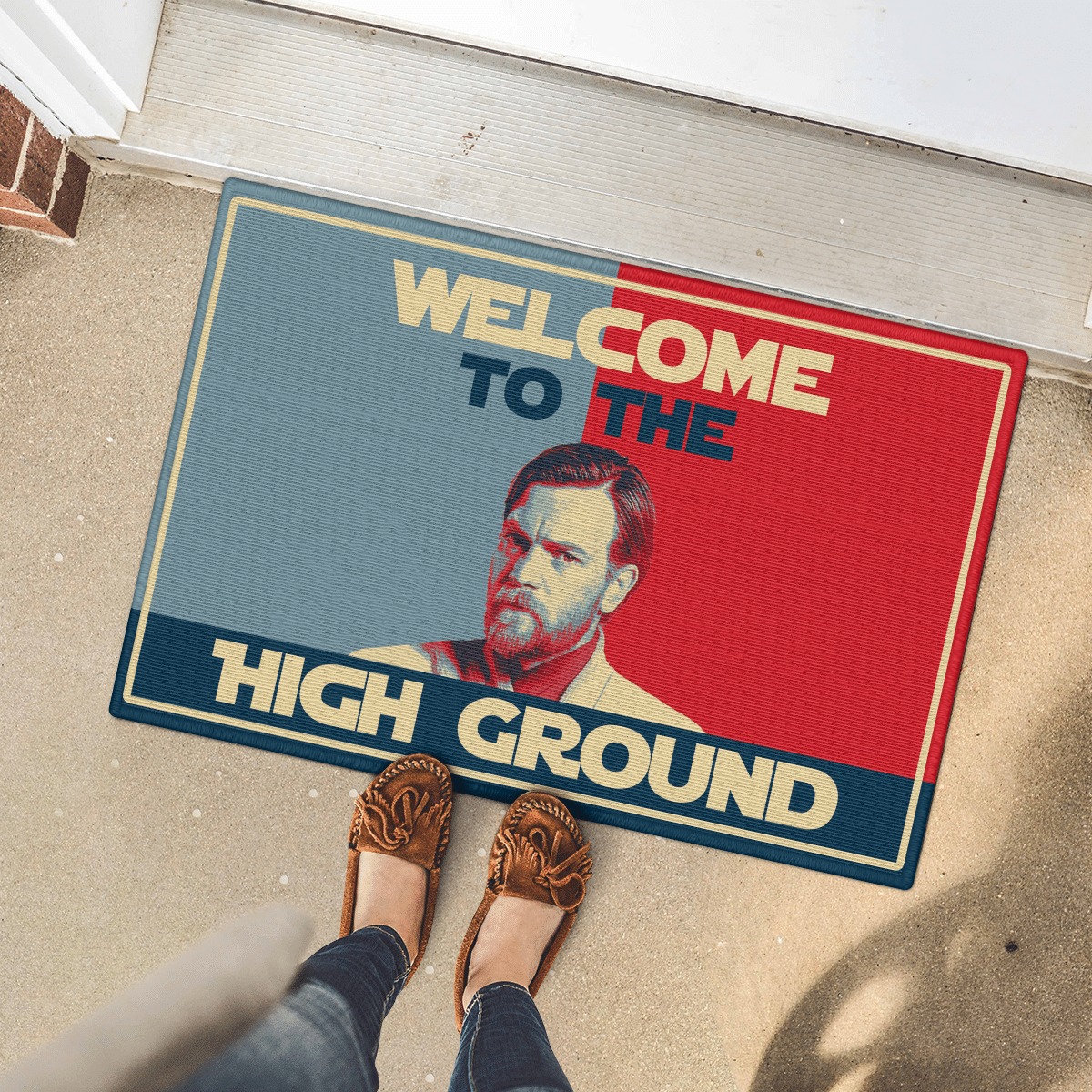 Welcome to the high ground doormat 1
