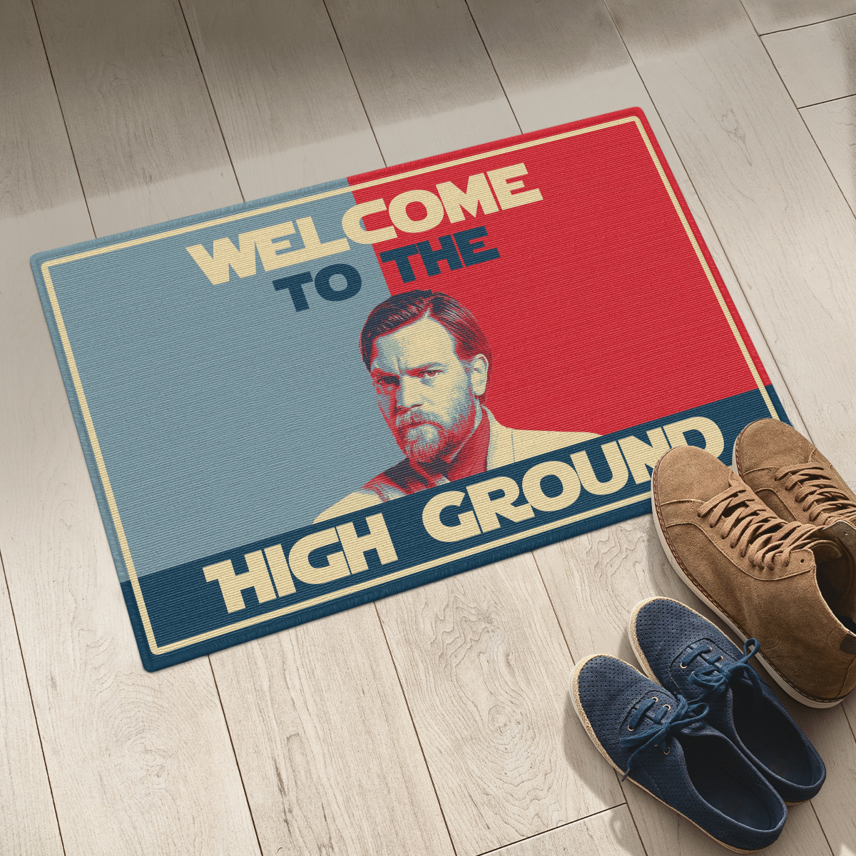 Welcome to the high ground doormat 2