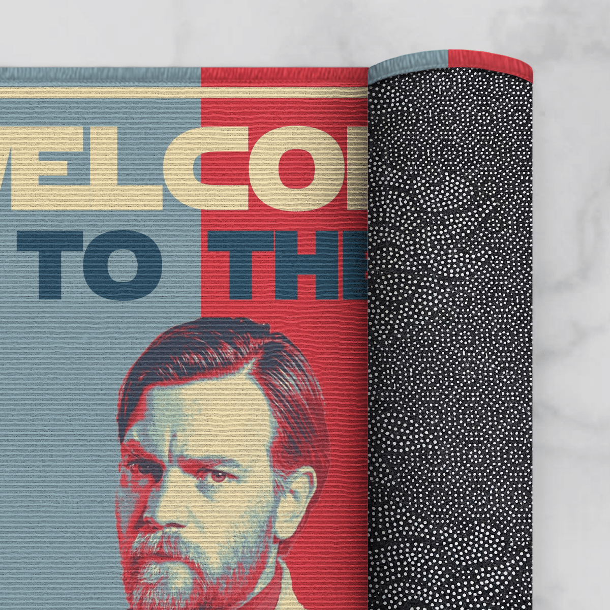 Welcome to the high ground doormat 3