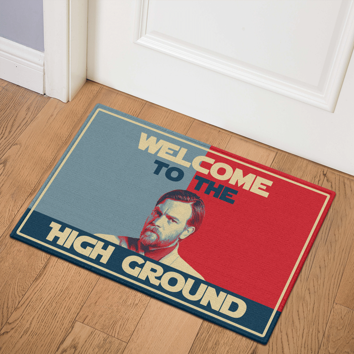 Welcome to the high ground doormat