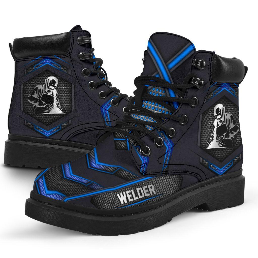 Welder carbon pattern timberland boots