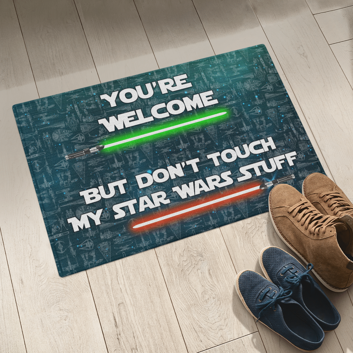 Star war Your welcome but dont touch my star wars stuff doormat